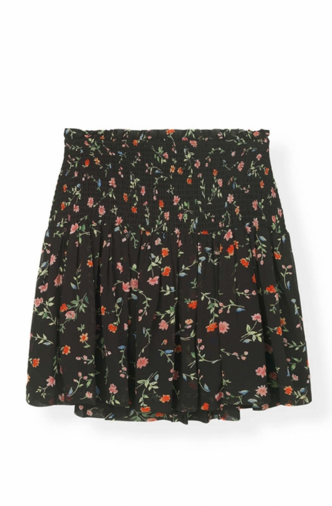 Elm Georgette Skirt, Black in the group For her / Skirts at Elin Maria AB (0WSS-F3175-099)