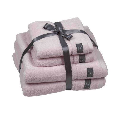 Premium Towel Set 2+2, Nantucket Pink in the group Homeware / Hand&Bath towels at Elin Maria AB (15HSS-852004718-654)