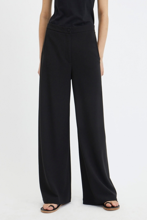 Sini Pant, Black in the group CLOTHES / CLASSIC FOR SPRING at Elin Maria AB (29DCL-SINI-B)