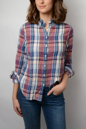 ae6f2f1623e65 Winter Flannel Madras Shirt