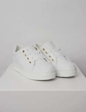 AURORA SNEAKERS, BRIGHT WHITE