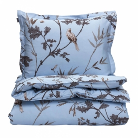 Birdfield Double Duvet, Hamptons Blue