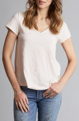 Our Town S/S Top, Warm Shell