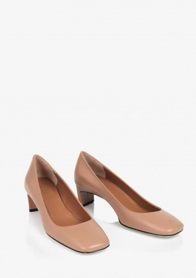 BARI SHOES, ALMOND VACCHETTA