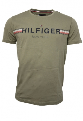 Corp Flag Tee, Dusty Olive