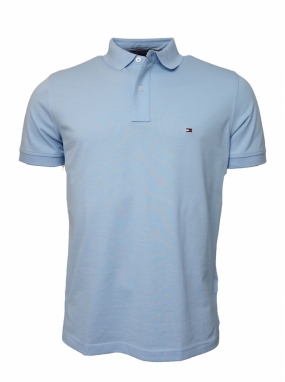 Tommy Regular Polo, Chambray Blue