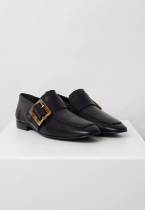 Vienna Loafers, Black Nappa
