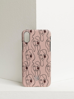 iPhone X/10 Case, Pink Sand