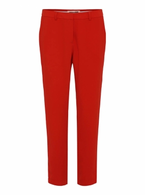 Muno Pipping Trousers, Flame Scarlet