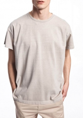 Nicolas T-shirt, Feather Grey