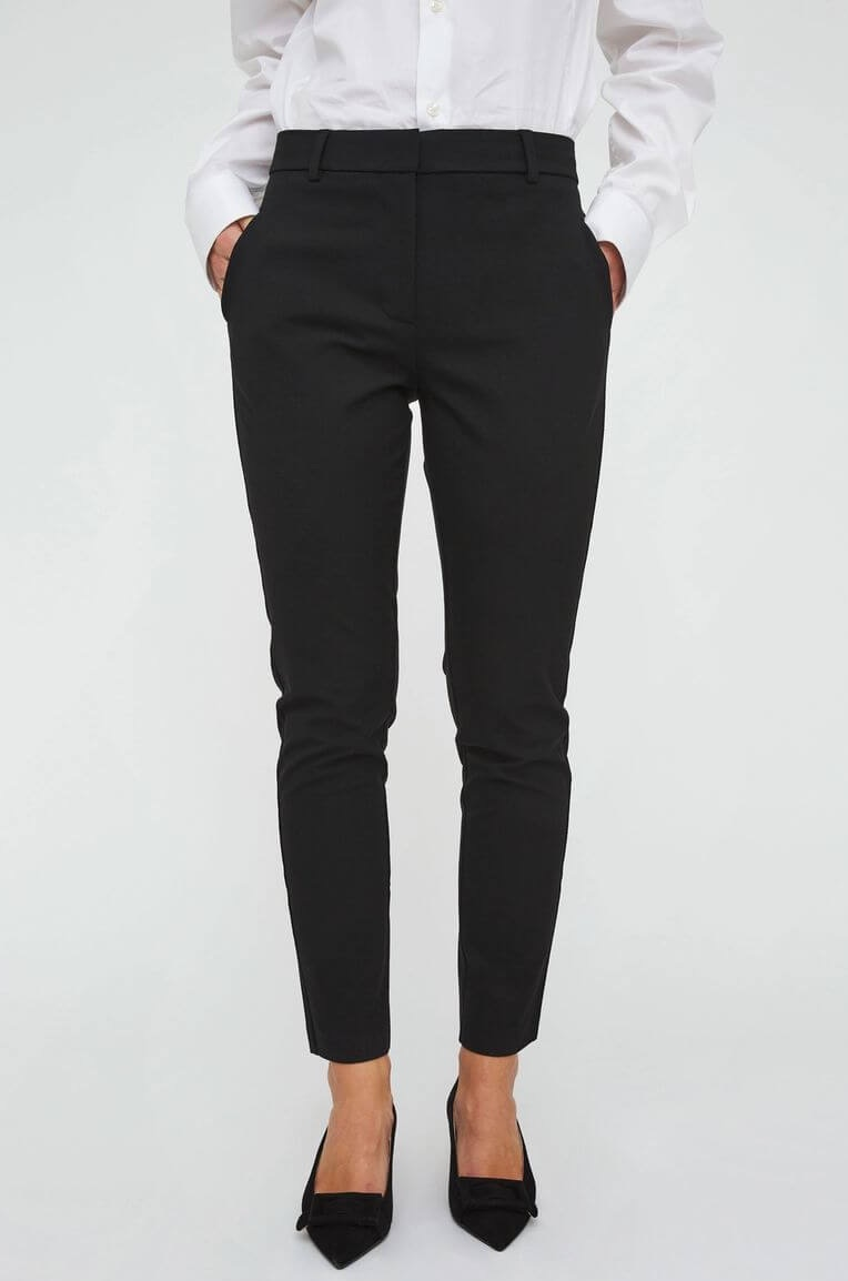 4ba9b18a8aa FIVEUNITS | Kylie Crop Pant, Black | Trousers & Jeans - For her